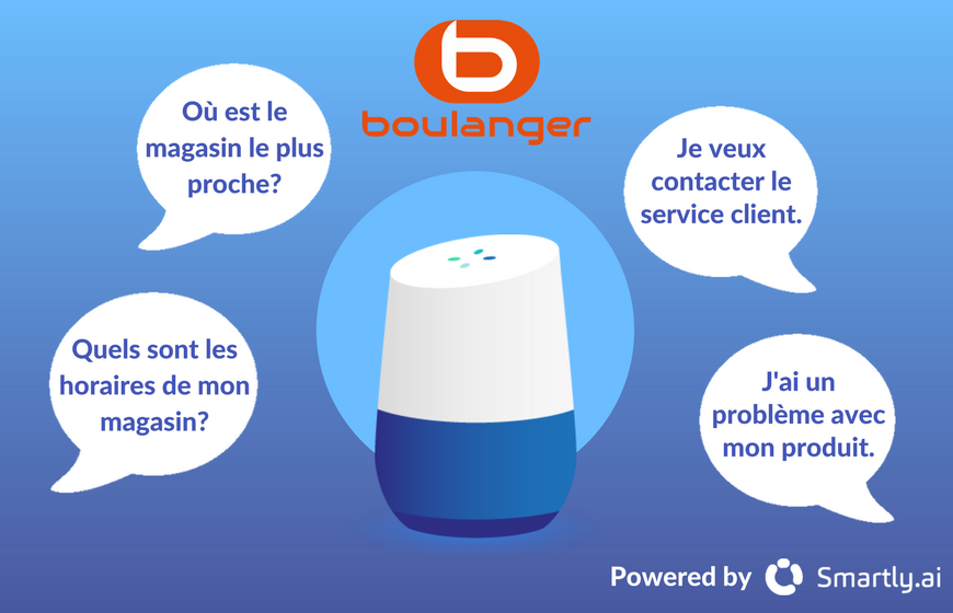 Boulanger Google Action