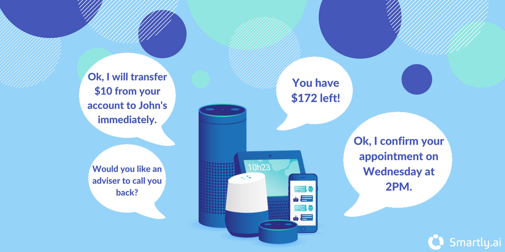 conversational banking application